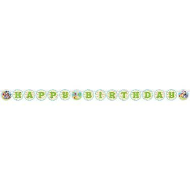 (Winnie the Pooh and Pals 1st Birthday Banner (1ct))