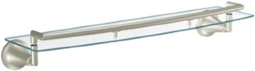 Moen YB5890BN Icon Vanity Shelf, Brushed Nickel