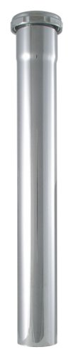 Lavatory Faucet Ldr (LDR 505 6255 Lavatory 1-1/4-Inch x 12-Inch Slip Extension Tube, Chrome Plated Brass)