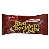Lieber's Semi Sweet Real Chocolate Chips 9 Oz. Pack Of 6.