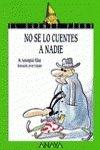 No se lo cuentes a nadie (Cuentos, Mitos Y Libros-regalo) Tapa blanda – 1 dic 1999 Maria Assumpcio Ribas Anaya 8420762784 YOUNG ADULT FICTION
