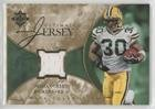 Ahman Green #52/75 (Football Card) 2006 Ultimate Collection - Ultimate Game Jersey - Gold #UL-AG