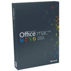 Volledige versie Office Home & Business Edition 2011 / Mac / Engels / DVD / 1 licentiekey