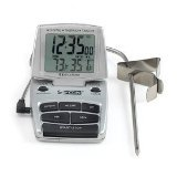 CDN DTTC-S Combo Probe Thermometer, Timer & Clock - Silver by CDN