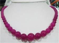 AAA Natural 6-14mm Rose Alexandrite Gemstone Round Beads Necklace (Gemstone Alexandrite Necklaces)