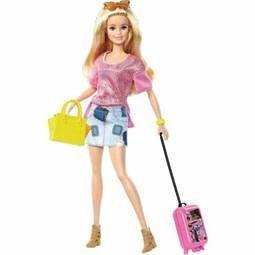 Mattel Barbie Pink Passport- Travel