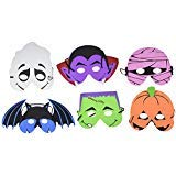 Foam Halloween Masks - 12pk -