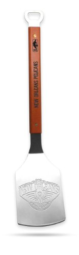 NBA New Orleans Pelicans Sportula, Heavy Duty Stainless Steel Grilling - Orleans Shops Best New In