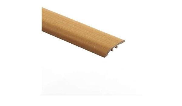Zamma Aegean Travertine Ivory 1//8 in Wide x 72 in Length Vinyl Multi Purpose Reducer Molding Thick x 1-3//4 in