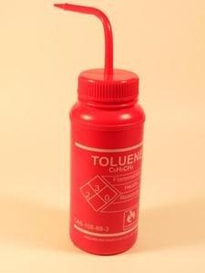 SEOH TOLUENE Labeled Wash Bottle 500ml