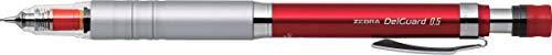 Zebra Mechanical Pencil, Del Guard, 0.5mm, Red (P-MA86-R) ()
