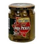 Talk Crisp Okra Pickles 16 OZ (Pack of 24)