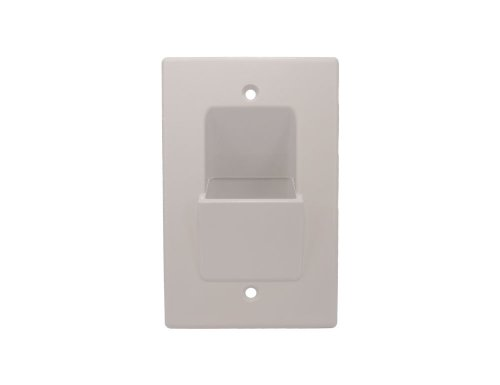 Sewell Direct WallBlade Lite, Single Gang Recessed Wall Plate
