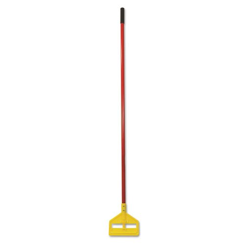 RCPH146RED Invader Fiberglass Side-Gate Wet-Mop Handle, 60quot, Red/Yellow by RCPH146RED