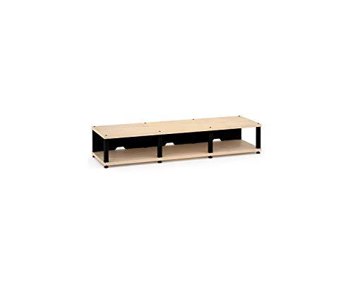 Salamander Synergy Triple 10 - Core Module (Maple/Black) Triple AV Cabinet