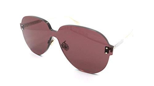 Dior DIOR Color Quake 3 Gold/Burgundy 99/1/145 Women Sunglasses (Christian Dior Ladies Watch)