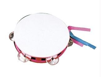 Rhode Island Novelty 5.5-Inch Mini Tambourine, Pack of 12 by Rhode Island Novelty