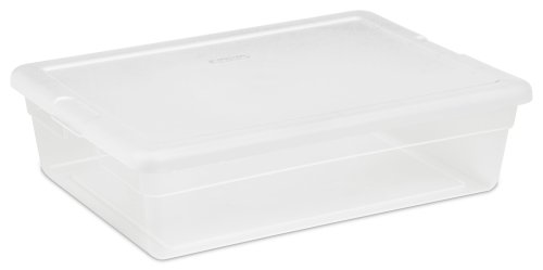 Sterilite 28 Quart Clear Storage Box 16558010