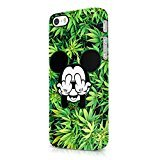 Dope Weed Mickey Mouse Marijuana Hard Plastic iPhone 5 / iPhone 5S Phone Case Cover