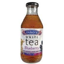 Inko's White Tea, Blueberry White Tea, 12/16 Oz