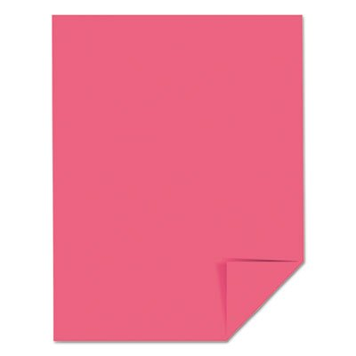 WAUSAU Papers 22119 Astrobrights Colored Paper, 24lb, 8-1/2 x 11, Plasma Pink, 500 Sheets/Ream