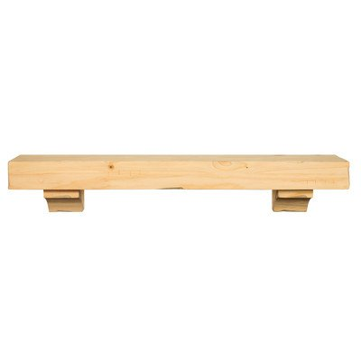 Shenandoah Fireplace Mantel Shelf Finish: Espresso Distressed, Shelf Length: 60'' by Pearl Mantels