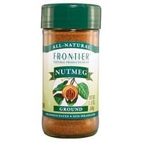 Frontier Herb Organic Ground Nutmeg, 1.90 Ounce - 6 per case