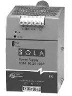 SOLA HEVI DUTY SDN 5-24-100P AC/DC CONV, DIN RAIL, 1 O/P, 264VAC, 24V