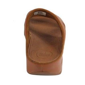Fitflop - Sandalias de cuero para mujer marrón - Tan Leather