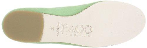 Verde de Paco 2509 P para MARA Gr Bailarinas BELLE Gil mujer cuero SqpASv