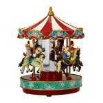 Animated and illuminated Disney Carousel by Mr. Christmas by MusicBoxAttic