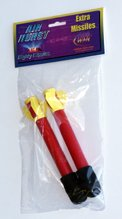 Mighty Missile Extra Rockets (pack of - Air Powered Foam Rocket