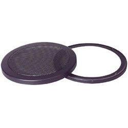 8-Inch 2-Piece Steel Mesh Speaker Grill - Black