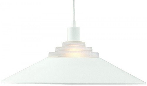 Dolan Designs 100-05 1Lt Matte White Pinnacle 1 Light Pendant, ()