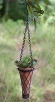 hanging cone planter - 4