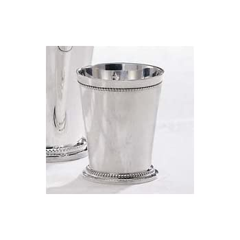 Godinger Beaded Silver Mint Julep Cup