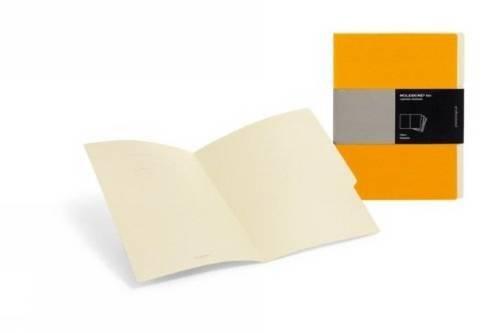 Stationery Folio - Moleskine Folio Professional Filers (Set of 3), A4, Orange (12 x 9.5)