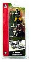 Mcfarlane 3 NFL 2-packs Tom Brady and Brett Favre by Unknown (Favre Brett Figurine)