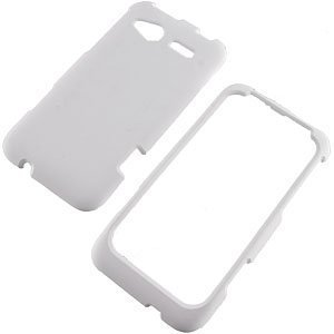 White Rubberized Protector Case for HTC Radar 4G (Radar Case Htc)