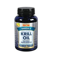 Krill Oil, Lemon Flavor 90 softgels by Health From The Sun (Pack of 3) by Health From The Sun