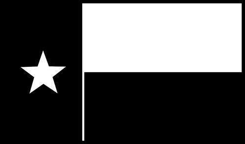 Crawford Graphix Texas Flag Vinyl Decal Car Window Wall Laptop Sticker, Die Cut Vinyl Decal Windows, Cars, Trucks, Tool Boxes, laptops, MacBook - virtually Any Hard, Smooth Surface (6