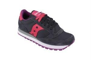 Saucony Originals Women's Jazz Original Fashion Sneaker,Charcoal/Pink, 5 M - Spring 5 Nyc Street