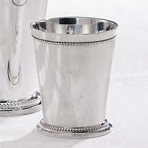 Godinger Beaded Silver Mint Julep Cup - Small Mint Julep Cup