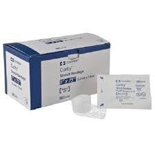 Kendal Curity Gauze Roll Bandage Sterle 1'' 12/box