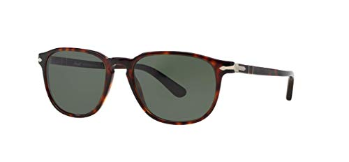 Persol PO3019S Sunglasses-24/31 Havana (Crystal Green)-55mm
