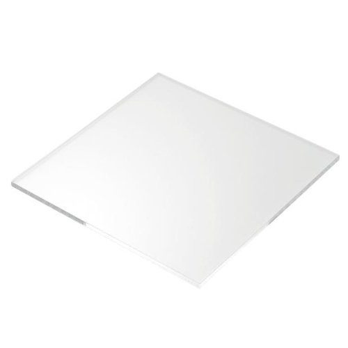 5mm Perspex Clear Acrylic Plastic Sheet (100mm x 100mm) Sign Materials Direct