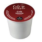 Cafe Escapes Cafe Mocha, K-Cup Portion Pack for Keurig Brewe