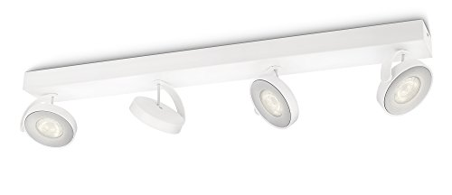 Philips myLiving Clockwork LED Spotbalken, 4-flammig, weiß, 531743116