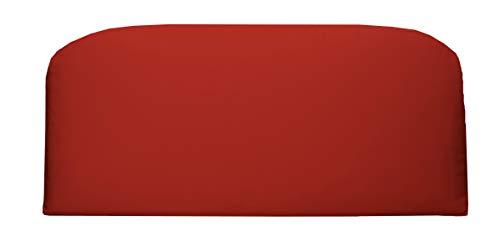 (RSH Décor Indoor ~ Outdoor Solid Red Green Foam Loveseat Settee ~ (38