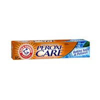 (Arm & Hammer PeroxiCare Tartar Control Toothpaste Baking Soda & Peroxide, Fresh Mint 6 oz (Pack of 2))
